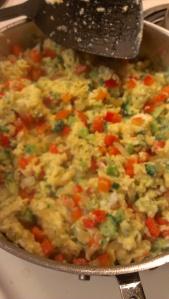 Paleo veggie scramble