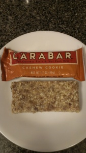 My paleo toffee cashew bar vs cashew cookie Larabar