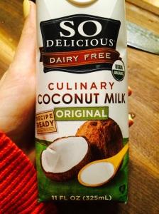 So Delicious culinary coconut milk