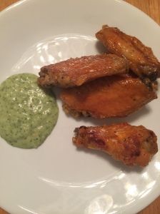 Whole 30 buffalo wings with ranch dressing