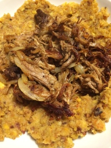 Paleo and Whole 30 pulled pork mofongo