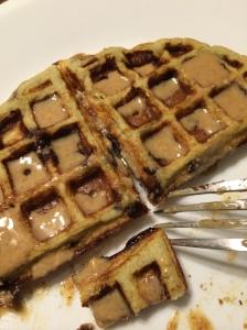 Paleo banana waffle