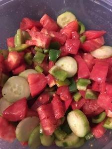 Whole 30 tomato salad