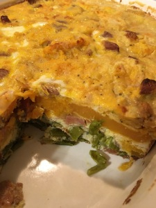 Whole 30 and Paleo crustless quiche