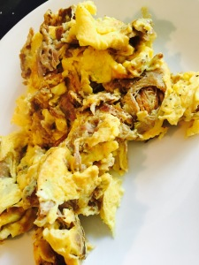 Whole30 & Paleo Pulled Pork Scrambled Eggs