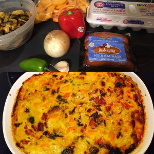 Whole30 and Paleo baked frittata
