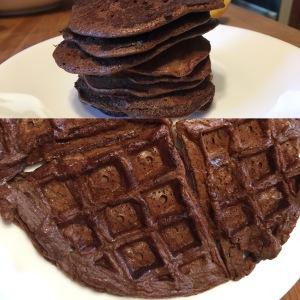 Paleo Chunky Monkey Pancakes or Waffle