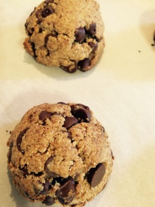 Deanna's (world's best) paleo chocolate chip cookies